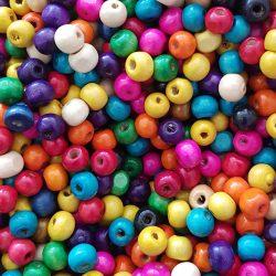 Fagyöngy, színes, 0,8x0,7 cm