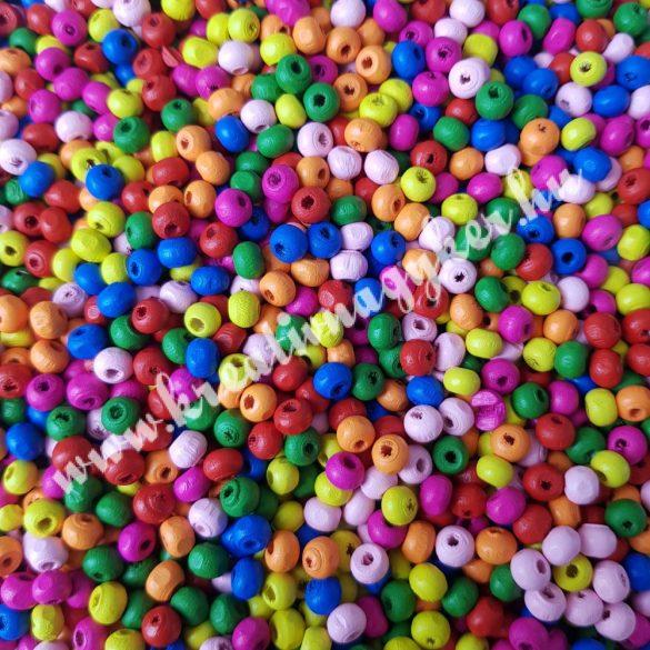 Fagyöngy, színes, 0,6x0,5 cm