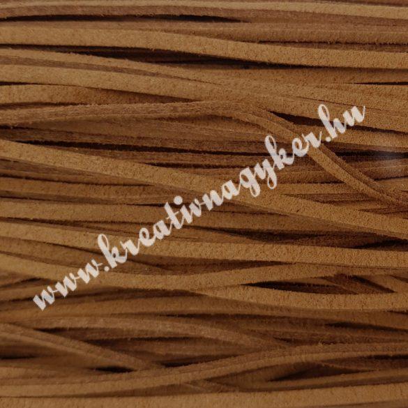 Szintetikus bőrszál, 2,5mmx90cm, natúr, 50 szál/köteg
