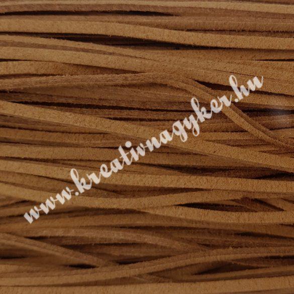 Szintetikus bőrszál, 2,5 mmx90 cm, natúr, 50 szál/köteg