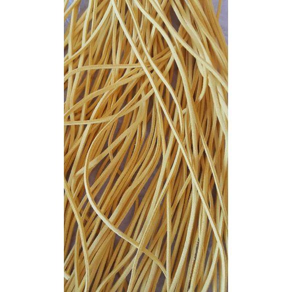 Szintetikus bőrszál, 2,5 mmx90 cm, krém, 50 szál/köteg