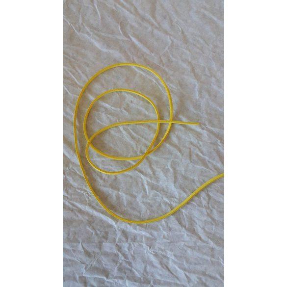 Szintetikus bőrszál, 2,5mmx90cm, krém, 50 szál/köteg