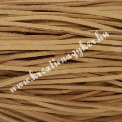 Szintetikus bőrszál, 2,5mmx90cm, nyers, 50 szál/köteg