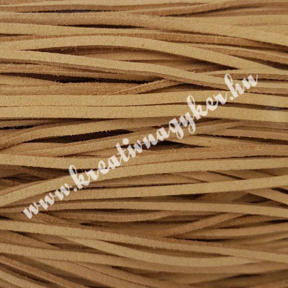 Szintetikus bőrszál, 2,5 mmx90 cm, nyers, 50 szál/köteg