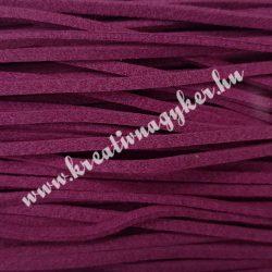 Szintetikus bőrszál, 2,5mmx90cm, lila, 50 szál/köteg