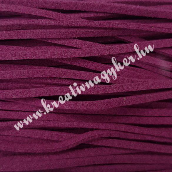 Szintetikus bőrszál, 2,5 mmx90 cm, lila, 50 szál/köteg
