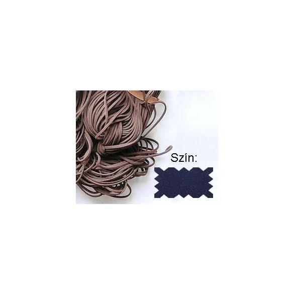 Szintetikus bőrszál, 2mmx75cm, kék, 50 szál/köteg