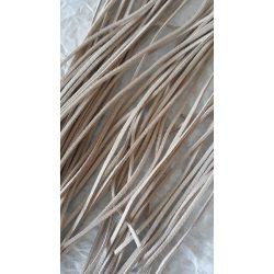 Szintetikus bőrszál, 2mmx75cm, nyers, 50 szál/köteg