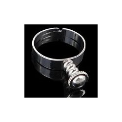 Gyűrűalap, 18,5x5,4mm, 5 db/csomag