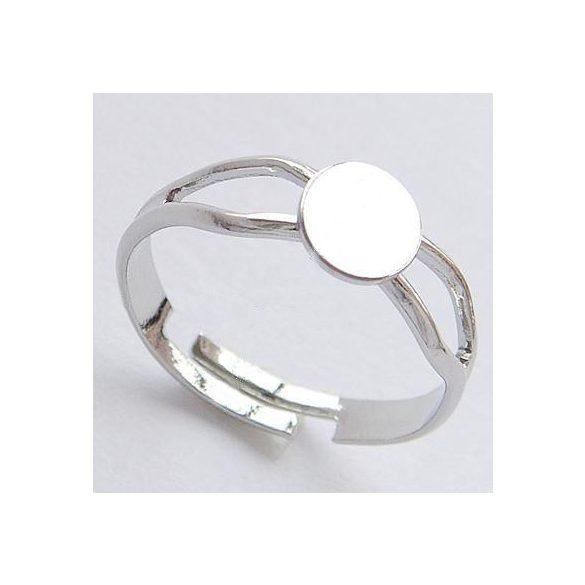 Gyűrűalap, 6mm, 8inch, 10 db/csomag