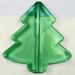 Fűzhető műanyag fenyőfa, 40x40mm, 10 db/csomag