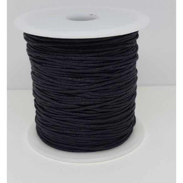 Nylon zsinór, 1mmx100yard, fekete, 100 yard/tekercs (~90m)