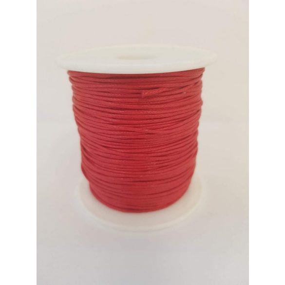 Nylon zsinór, 1mmx80yard, piros, 80 yard/tekercs (~73m)