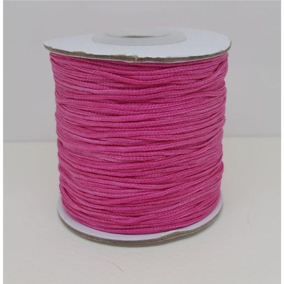 Nylon zsinór, 1mmx109,3yard, pink, 109,3 yard/tekercs (~100m)