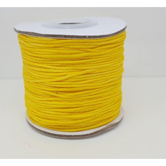 Nylon zsinór, 1mmx100yard, sárga, 100 yard/tekercs (~90m)