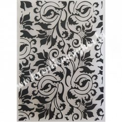 Műanyag pecsételő/mintázó Inda, 10,5x14,5 cm