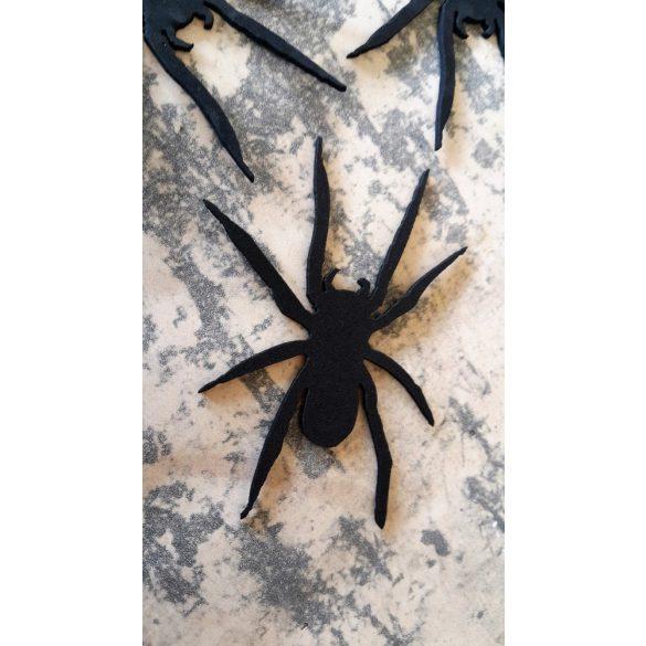 Pók,dekorgumi, 10 darab/csomag