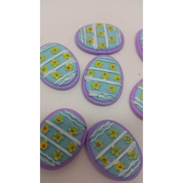 Ragasztható tojás, lila-kék-sárga 10 db/doboz