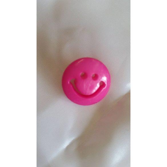 Smiley fülesgomb, 24 db/ csomag