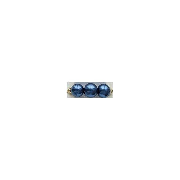 Üvegtekla, 4mm, (20) sötétkék, 200 db/szál
