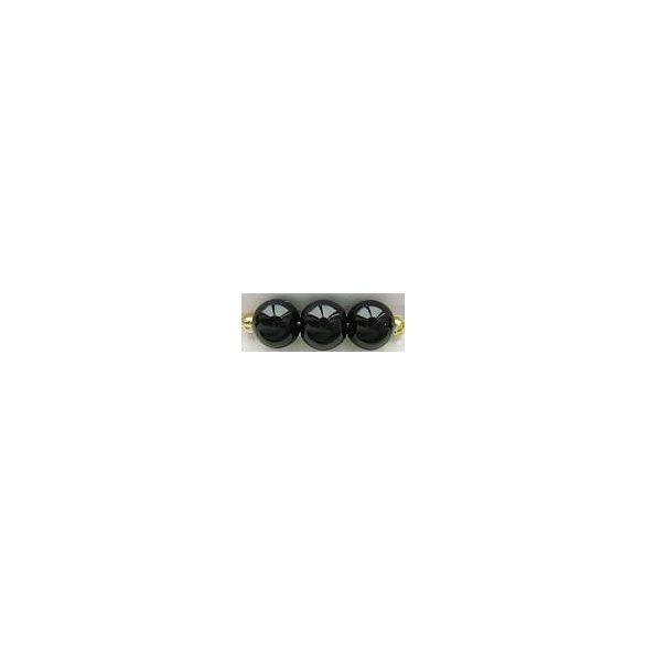 Üvegtekla, 3mm, (40) fekete, 250 db/szál