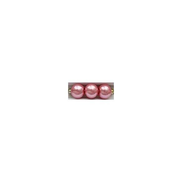 Üvegtekla, 4mm, (51) rózsaszín, 200 db/szál