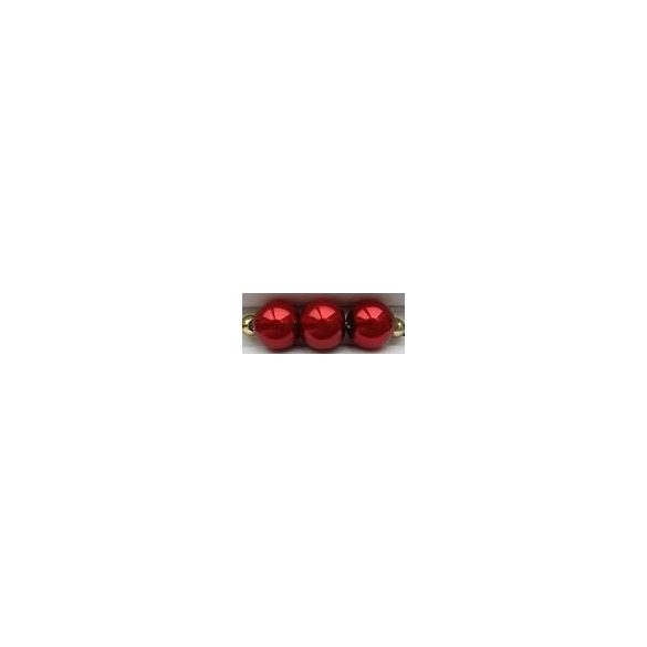 Üvegtekla, 4mm, (55) piros, 200 db/szál