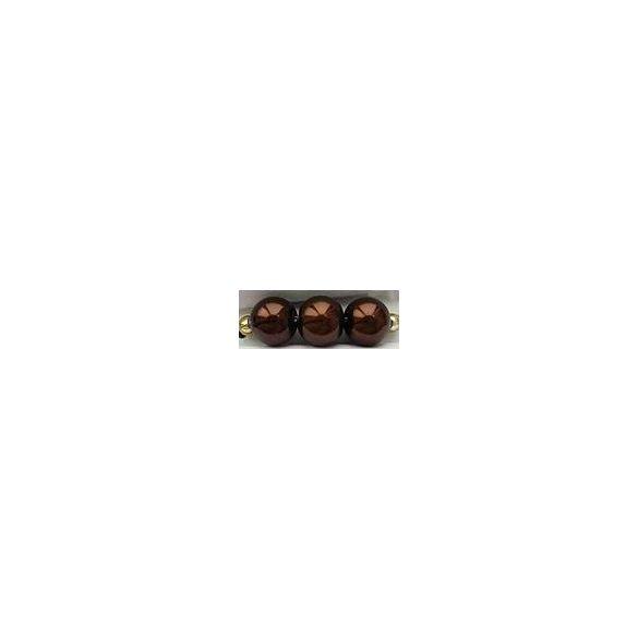Üvegtekla, 4mm, (76) csokibarna, 200 db/szál
