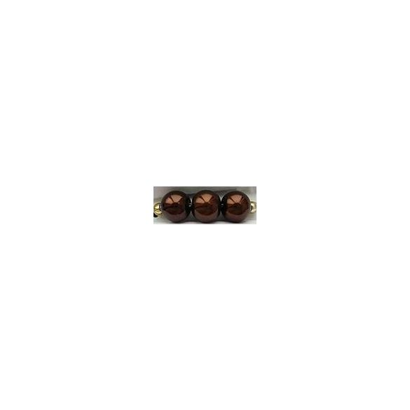 Üvegtekla, 6mm, (76) csokibarna, 135 db/szál