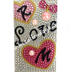 Telefonmatrica, Love, 40x130mm, db