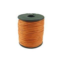 Viaszolt zsinór, 1mmx100yard, narancssárga, 100 yard/tekercs (~90m)