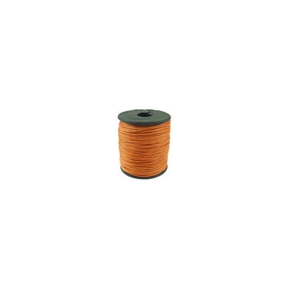 Viaszolt zsinór, 1mmx100yard, narancssárga, 100 yard/tekercs (~91m)