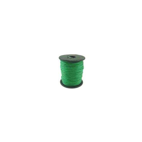 Viaszolt zsinór, 1mmx100yard, zöld, 100 yard/tekercs (~90m)