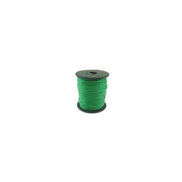 Viaszolt zsinór, 1mmx100yard, zöld, 100 yard/tekercs (~91m)